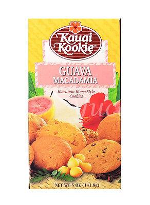 - KAUAI KOOKIE Hawaiian Cookies (Guava Macadamia, Macadamia Nut Shortbread)