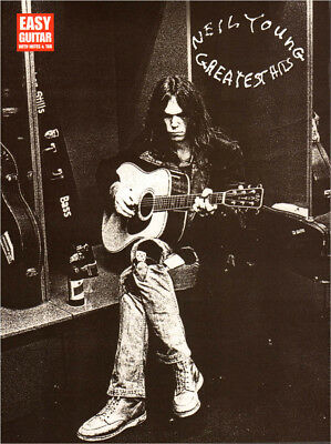 Neil Young Greatest Hits for Easy Guitar Songbook Noten Tab für Gitarre leicht