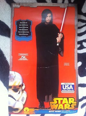 Star Wars Sith Robe Kostüm Umhang schwarz Karneval Fasching Cosplay Rogue One  ()