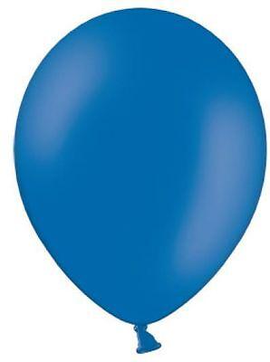 25 royalblaue Luftballons Ballons royalblau 1A Ware Neu (Royal Blau Hochzeit Ballons)