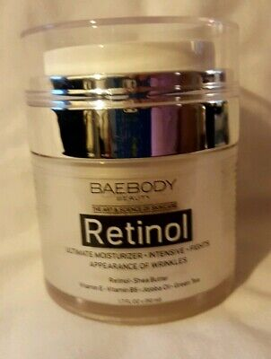 Baebody Retinol Moisturizer Cream for Face and Eye Area,Best Day^Night