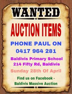 Wanted Auction Items