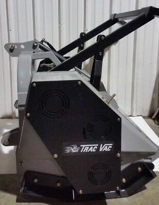 Trac Vac Forestry Mulcher 56 3 Three Point Pto Tractor Mounted Brush Cutter