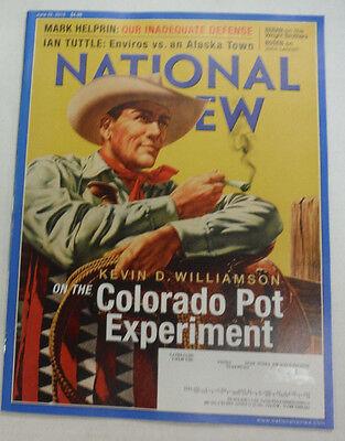 National Review Magazine Colorado Pot Experiment June 2015 062215R