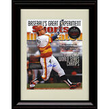 Framed George Springer Sports Illustrated Autograph Replica Print Houston Astros