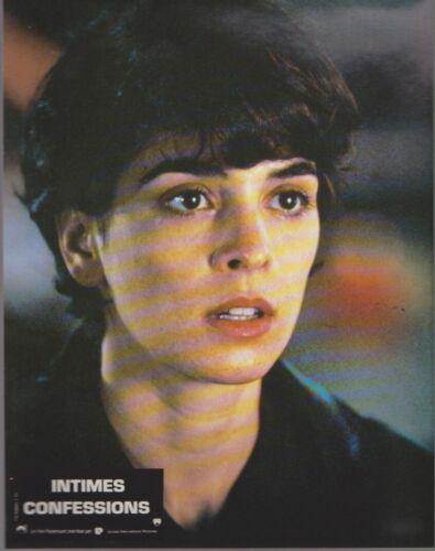 Annabella SCIORRA - Deborah HUNGER 12 French Lobby Cards  WHISPERS IN THE DARK