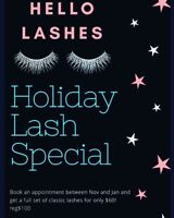 Lash Extensions *Holiday Special
