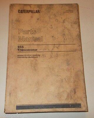 1980 Caterpillar Parts Catalog 955 Traxcavator Ueo35655  - Mis468