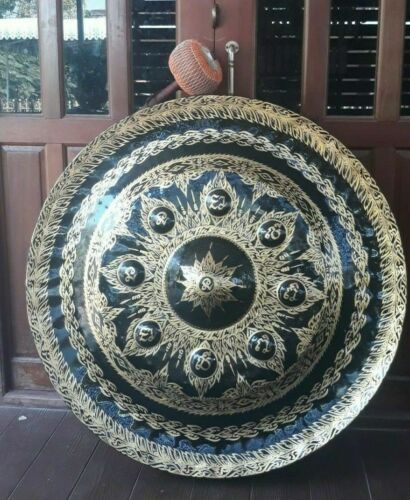 Gong (Thai Gong 100 cm 2 pieces ,Hand-made Handicrafts from Thailand)