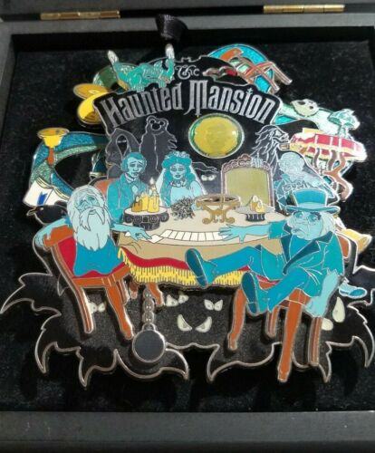 Pin Trading Disney 2008 The Haunted Mansion Limited Edition