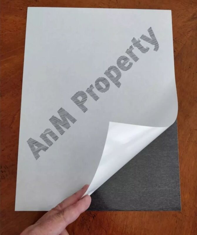 """Self Adhesive Paper Magnet Sheets in 9""""X12"""" (2Sheets)"""