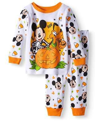 DISNEY MICKEY MOUSE HALLOWEEN BABY PAJAMAS SIZE 9 12 18  MONTHS NEW! - Halloween Mouse