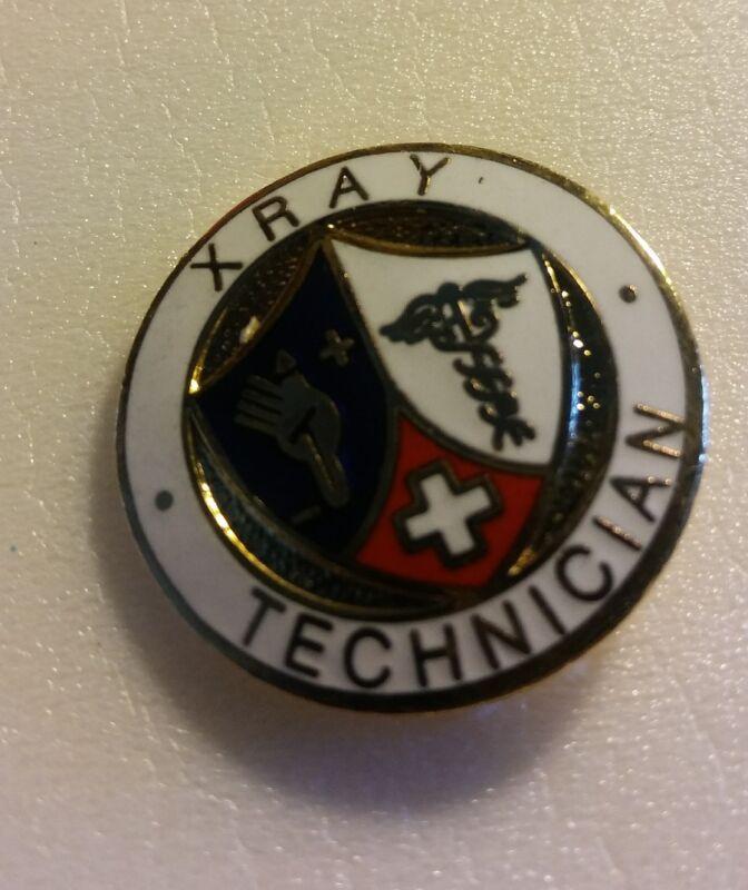Prestige Medical Emblem Pin Medicine XRAY TECHNICIAN TECHNOLOGY TECH Lapel NEW