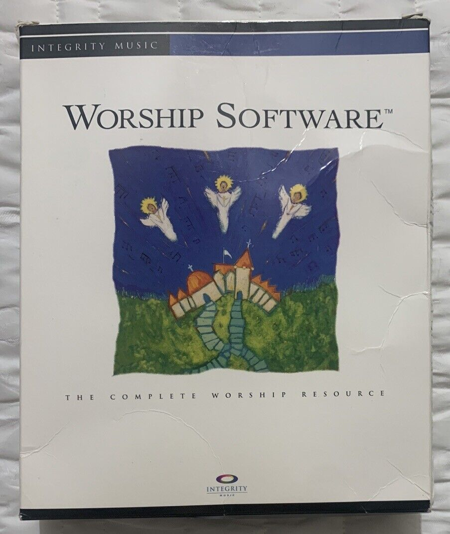 Worship Software The Complete Worship Resource By Integrity Music W/ Hosanna DLC