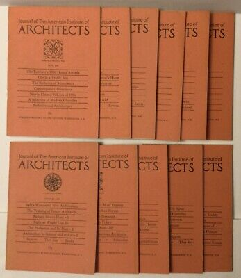 1956 JOURNAL OF THE AMERICAN INSTITUTE OF ARCHITECTS BOOK
