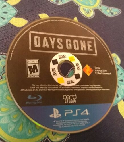 Days Gone PS4 Disc Only