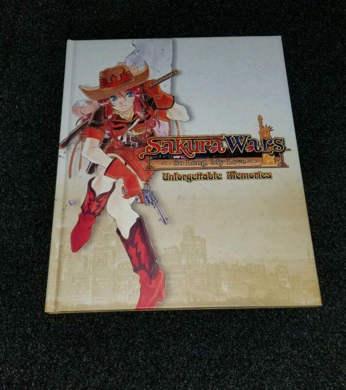 Sakura Wars So Long My Love PS2 Wii Unforgettable Memories NISA Xclusve Art Book