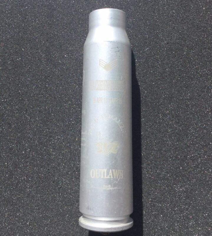 30 mm thunderbolt empty shell 924th Armament sqdn