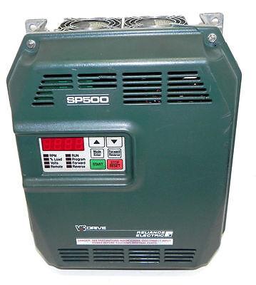 Reliance Electric Sp500 Drive Mn 1su21005 Hp 5