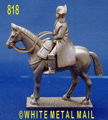 Military Lead Casting 818 1:32 Scale Napoleonic Napoleon Bonaparte on Horseback