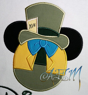 Personalized Mad Hatter Mousehead T-shirts machine - Mad Hatter Personality