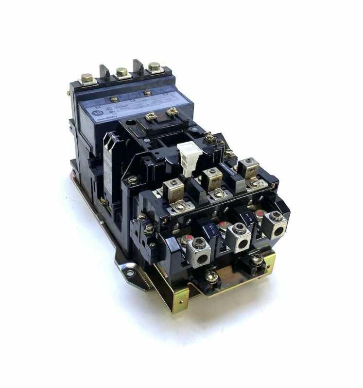 Allen Bradley 509-DOD Size 3 90 Amp Motor Starter w/120 Vac Coil