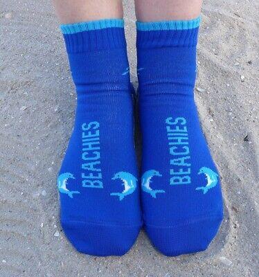 Wattsocken BEACHIES® 36-38 Delfin Strand Watt Socken Schwimmschuhe Badeschuhe