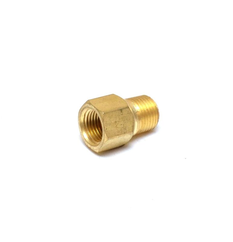 """1/8"""" Male to Female NPT Pipe Adapter Coupling Brass Air Fuel Gas Water FasParts"""