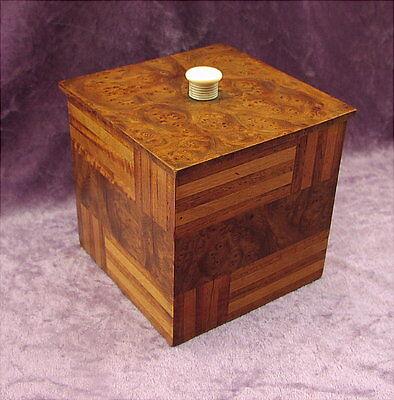 Rare alte Holz Box Art Deco um 1925 France Ruhlmann ?