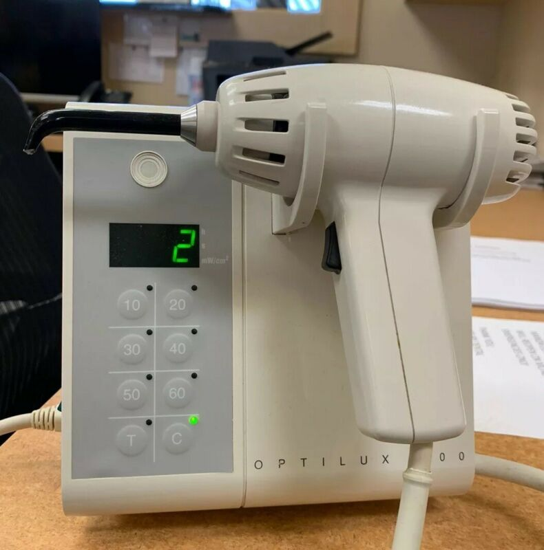 KERR / DEMETRON OPTILUX 500  DENTAL CURING LIGHT With Extra Curing Tip
