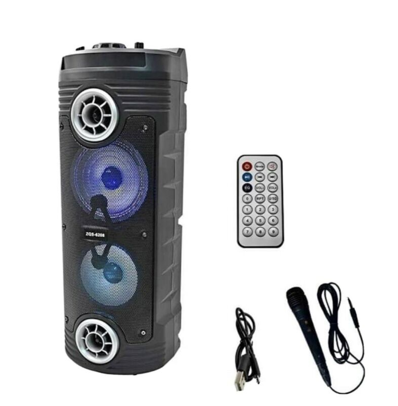 Brand+New+Super+Loud+Tower+Speaker+With+Wireless+Microphone+For+Garden+Parties