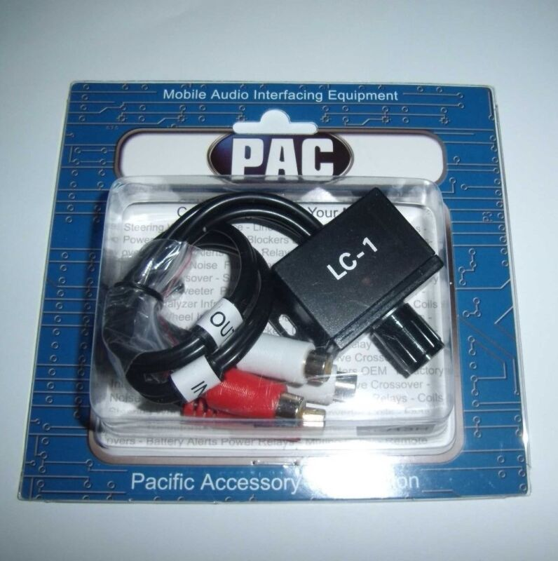 PAC LC-1 Stereo Remote Level Controller Bass Knob LC1 Universal RCA Control