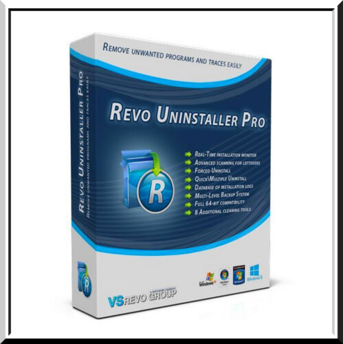 Revo Uninstaller Pro v4.3.3 ✔️Lifetime🔑 Fast delivery