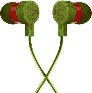 House of Marley Mystic Green In-Ear Headphones Earphones