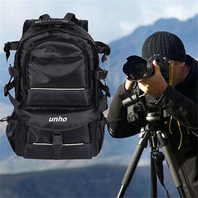 Large Camera Backpack Laptop Bag Insert Case For DSLR SLR Canon Nikon Sony Lens