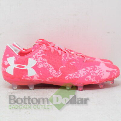 65c3ca8b796a Under Armour 1297548-661 Clutchfit Force 3.0 LE FG Soccer Cleats Pink/White  (9)