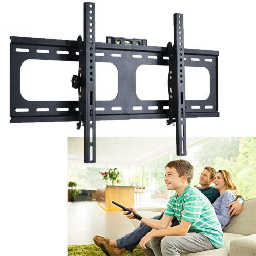 "32-75/"" inch LCD LED Plasma TV XL Large Slim Tilt Wall Mount Bracket Up to 99lbs"