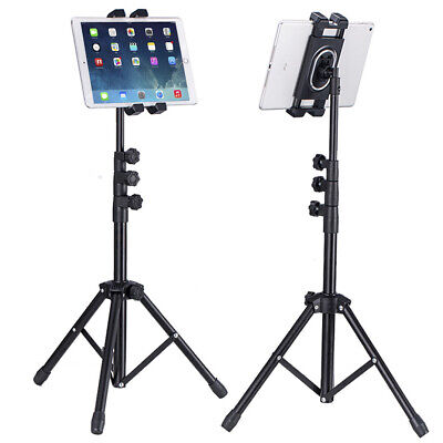 Foldable Height Adjustable Floor Tablet Tripod Stand Mount for iPad Cellphone