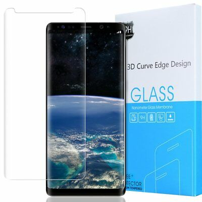 For Samsung Galaxy Note 8 Exact 【HD Clear】 Tempered Glass Screen Protector Clear