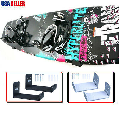 Wall Mounted Snowboard Skateboard Board Display Hangers Brackets Holder Keeper