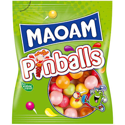 MAOAM Pinballs 140g Made in England- FREE SHIPPING