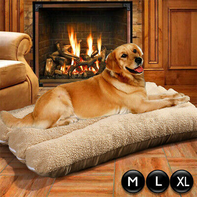 XL Pet Dog Bed Extra Comfy Washable Pet Kennel House Plush Pillow Sofa Large -