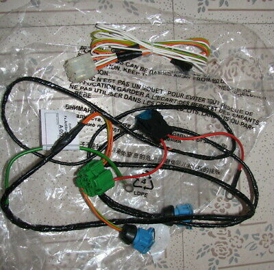 Citroen Saxo Front Fog Spot Lamp Light Wiring Harness Loom Cable Assembly New