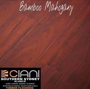 Bamboo 14mm  Strand Woven German Technology Timber Flooring Hurstville Grove Kogarah Area Preview