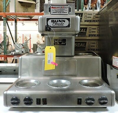 Bunn Rl35 Commercial 12 Cup Automatic Coffee Brewer With 5 Warmers
