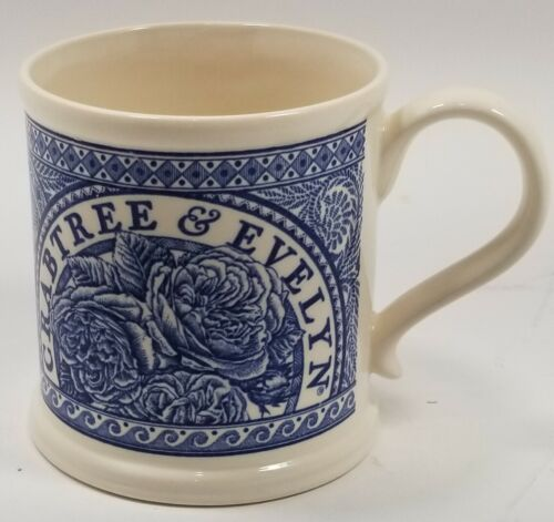 Mason's Crabtree & Evelyn Blue 1997 Commemorative Mug