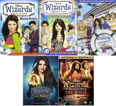Wizards of Waverly Place - Disney Series + Movie Collection 5 DVD Set BRAND NEW