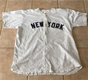 New York YANKEES Cotton jersey men's xl