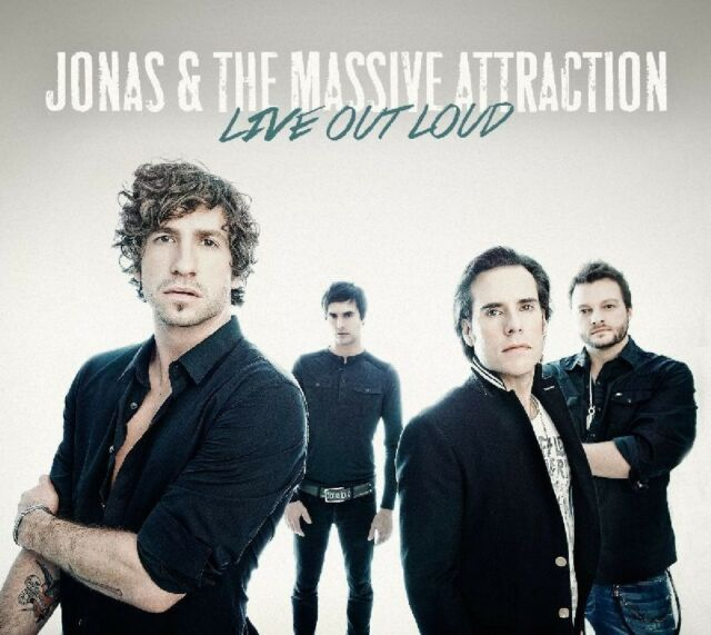 JONAS & THE MASSIVE ATTRACTION - LIVE OUT LOUD  CD NEU