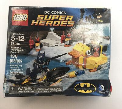 LEGO DC Universe Super Heroes Batman The Penguin Face off (76010) Non Mint